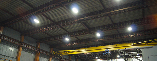 Освещение производственного цеха в Брестской области